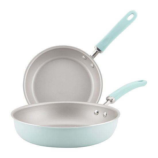 "Rachael Ray Create Delicious 9.5"" and 11.75"" Skillet Set"