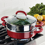Rachael Ray Create Delicious 3-Pc. Aluminum Non-Stick Steamer with Insert