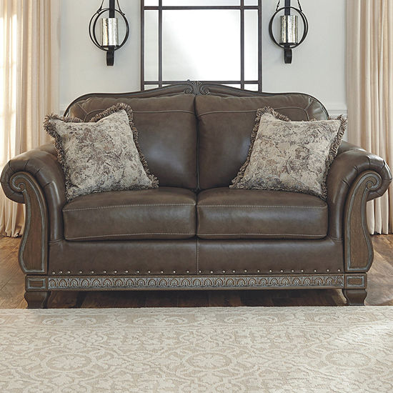 Signature Design by Ashley® Malacara Roll-Arm Loveseat