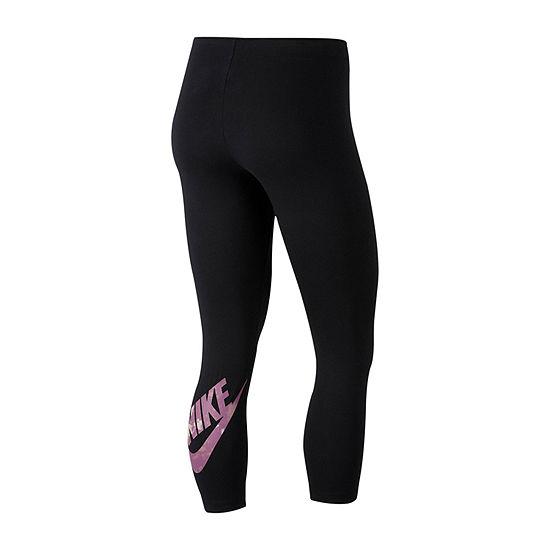 Nike Crop Futura Club Legging Mid Rise Capri Leggings