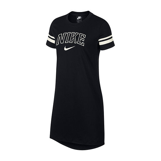 Nike Short Sleeve Sheath Dress