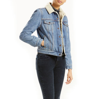Levi's® Denim Sherpa Jacket