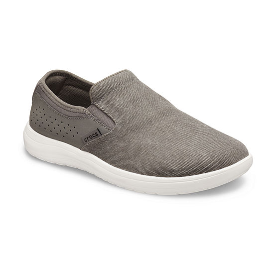 Crocs Mens Reviva Round Toe Slip-On Shoe