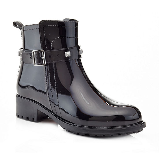 Henry Ferrera Womens Relax 100 Rain Boots Water Resistant Flat Heel Pull-on