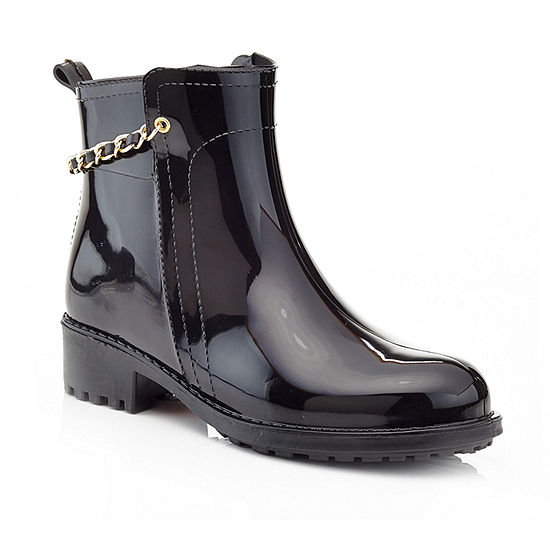 Henry Ferrera Womens Relax 200 Rain Boots Water Resistant Flat Heel