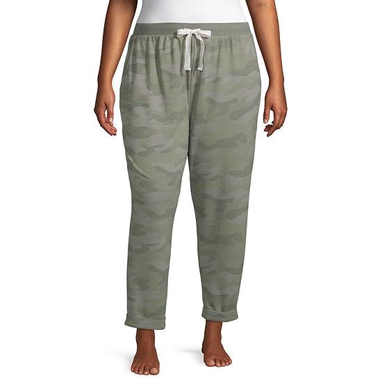 Ambrielle Knit Pajama Pants Womens - Plus