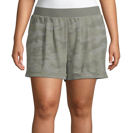Ambrielle Pajama Shorts Womens - Plus