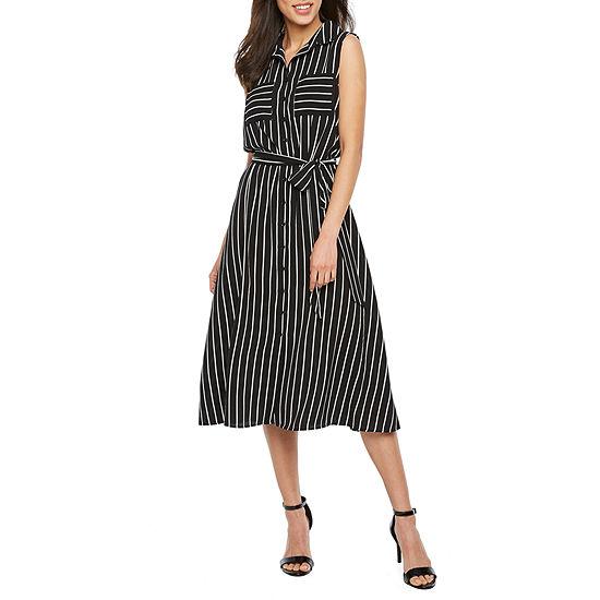 Alyx Sleeveless Shirt Dress