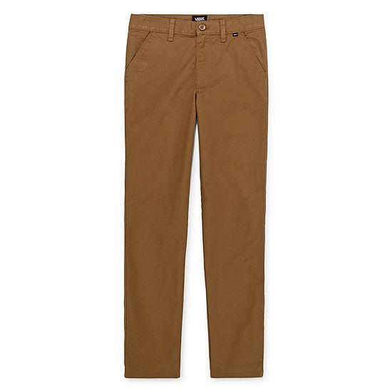 Vans Boys Mid Rise Straight Pull-On Pants - Big Kid
