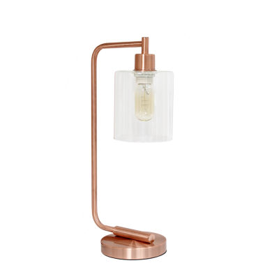 Industrial Iron Lantern Lamp Rgd Iron Table Lamp