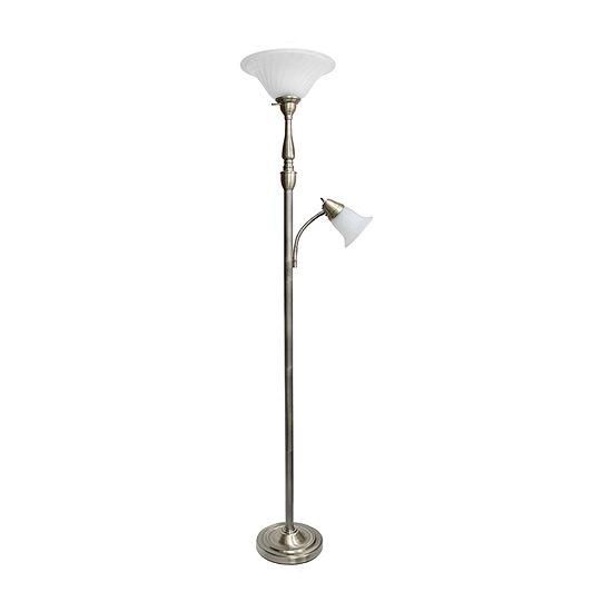 2 Lt Mother Daughter Lamp Abs Iron Floor Lamp