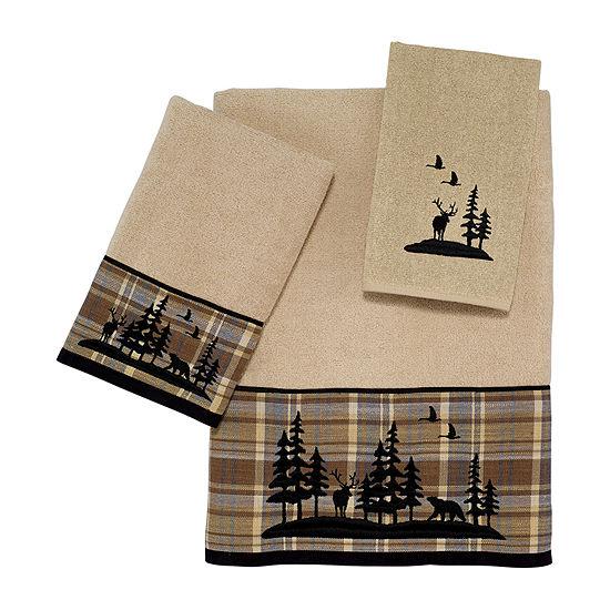 Avanti Woodville Embellished Bath Towel