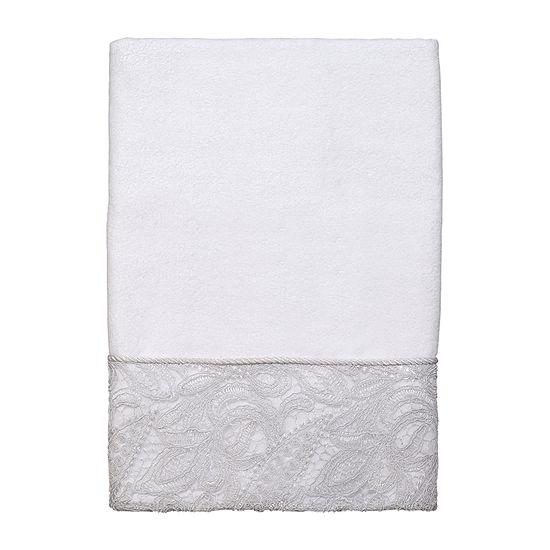 Avanti Grace Embroidered Eyelet Bath Towel