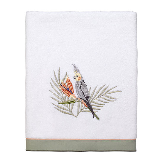 Avanti Koko Island Embroidered Bath Towel