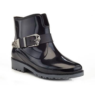 Henry Ferrera Womens Gl-101 Rain Boots Water Resistant Flat Heel Pull-on