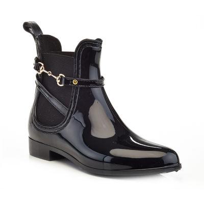 Henry Ferrera Womens Clarity 152 Rain Boots Water Resistant Flat Heel Pull-on