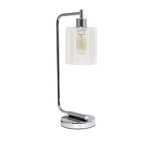 Industrial Iron Lantern Lamp Chr Iron Table Lamp