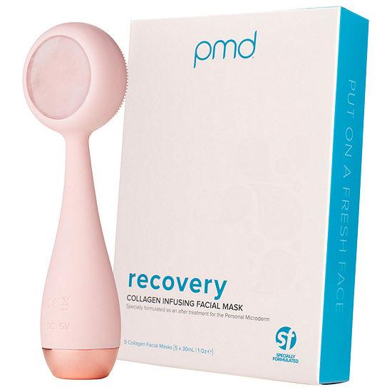 PMD Clean Pro Rose Quartz + Collagen Sheet Mask Value Set