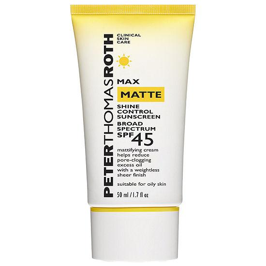 Peter Thomas Roth Max Matte Shine Control Sunscreen Broad Spectrum SPF 45