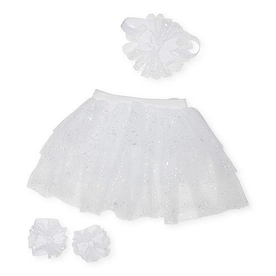 Little Cuties 0-6 Months Tutu Baby Girls 2-pc. Baby Gift Set
