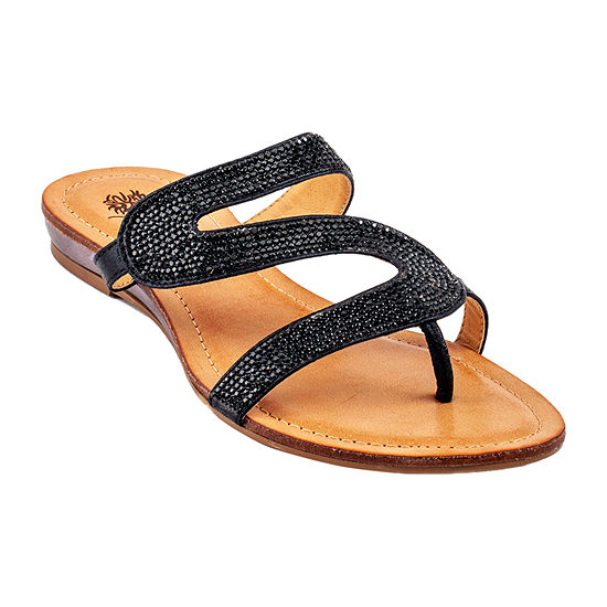 GC Shoes Womens Nylah Flat Sandals
