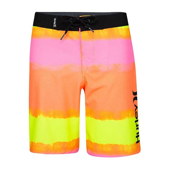 Hurley Little Boys Tie Dye Board Shorts