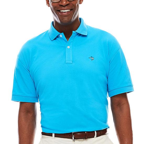 Biscayne Bay Short-Sleeve Pique Polo