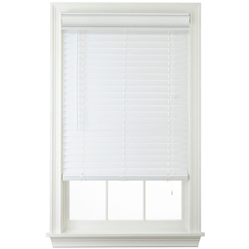 "JCPenney Home 2"" Faux-Wood Horizontal Blinds"