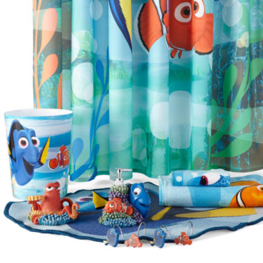 Jcpenney Bathroom Sets | Disney Finding Dory Lagoon Bath Collection Jcpenney