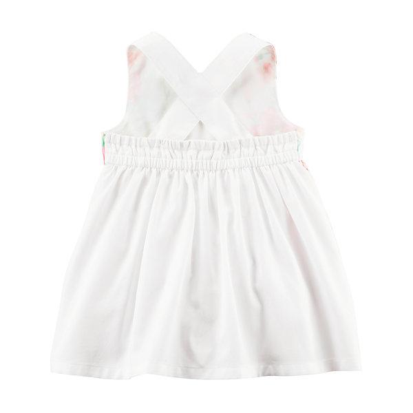 Carter s Sleeveless Floral A Line Dress Baby Girls