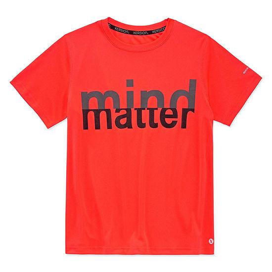 267adb18 Xersion Boys Crew Neck Short Sleeve Dri-Fit Graphic T-Shirt-Big Kid -  JCPenney