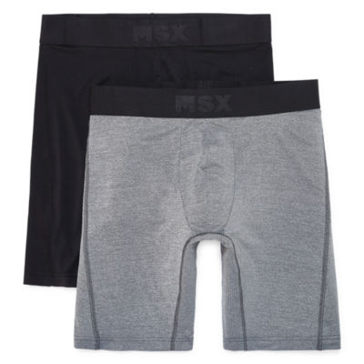MSX by Michael Strahan 2-pk. Performance Long Leg Boxer Briefs