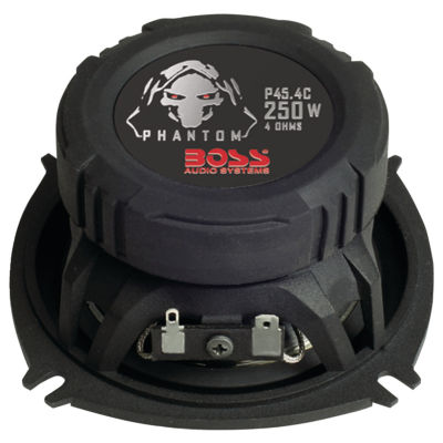 Boss Audio Systems P45.4C Phantom Series Speakerswith Electroplate-Injection Cones (4IN)