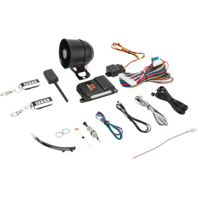 CrimeStopper Security Products SP-202 Universal Deluxe 1-Way Security & Keyless Entry System