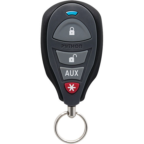 Python 3105P 3105P 1-Way Security/Keyless Entry System with .25-Mile Range & 4-Button Remotes