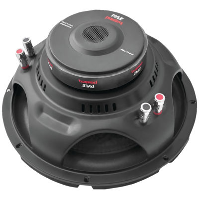 Pyle PLPW12D Power Series Dual Voice-Coil 4? Subwoofer (12IN; 1;600 Watts)