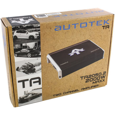 Autotek TA 2050.2 TA Series 2-Channel Class AB Amp (2000 Watts)