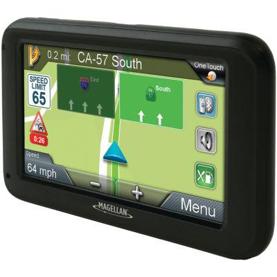 Magellan RM5375SGLUC RoadMate 5375T-LMB 5IN GPS Navigator with Bluetooth & Free Lifetime Maps & Traffic Updates