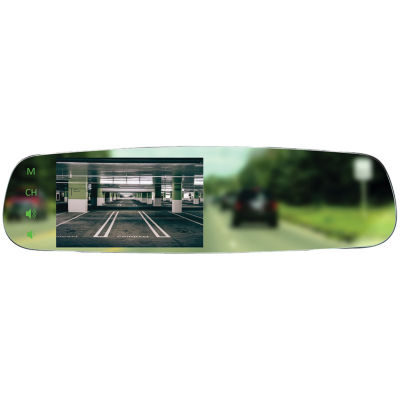 BOYO Vision VTM43FL 4.3IN Frameless OE-Style Replacement Rearview Mirror Monitor
