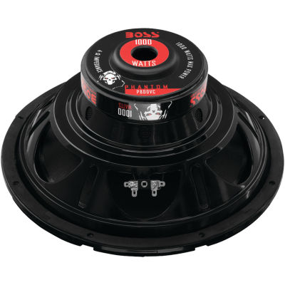 BOSS Audio Systems P80DVC Phantom Series Subwoofer(8IN)