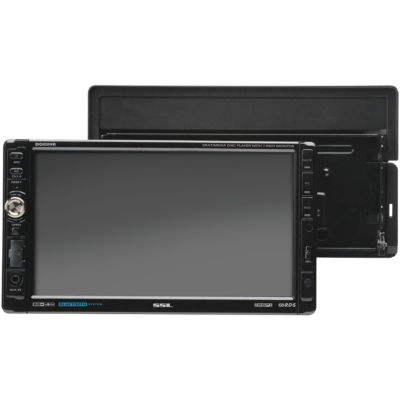 Sound Storm Laboratories DD889B 7IN Double-DIN In-Dash Multimedia Player with Detachable Touchscreen(Bluetooth-Enabled)