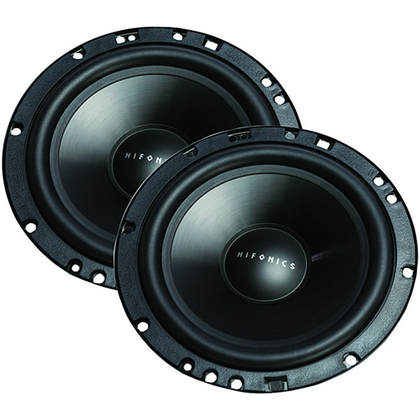 Hifonics ZS65C Zeus Series 6.5IN 400-Watt 2-Way Component Speaker System