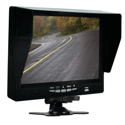 Pyle PLCMDVR72 Monitor System with 2 Interior DVRDash Cams & License-Plate Camera