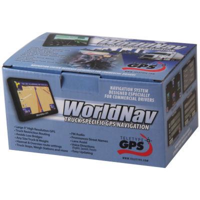 TeleType 588060 WorldNav 5880 High-Resolution 5INTruck GPS with Bluetooth
