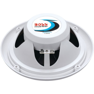 Boss Audio Systems MR6W 6.5IN Dual-Cone Marine Speakers (White)