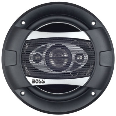 Boss Audio Systems P65.4C Phantom Series Speakerswith Electroplate-Injection Cones (6.5IN)