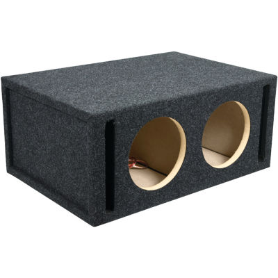 ATREND E8DV BBox Series Dual Vented Enclosure with Divided Chamber (8IN)