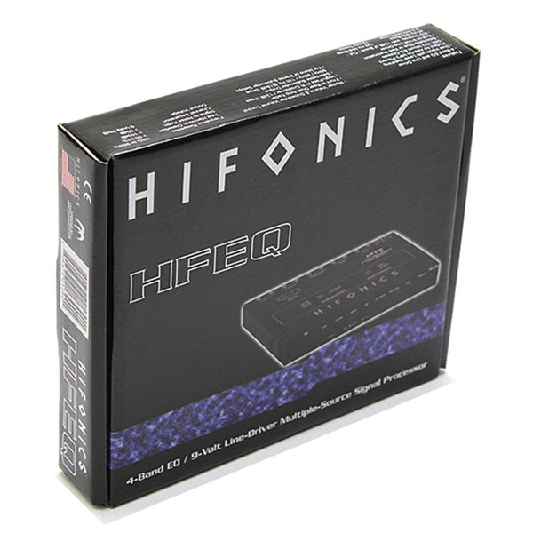Hifonics HFEQ Half-DIN In-Dash HFEQ 4-Band Equalizer