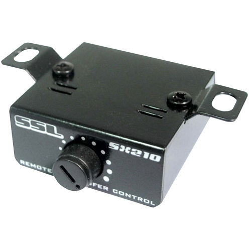 Sound Storm Laboratories SX210 Electronic Crossover with Remote Subwoofer Level Control (2 Way)
