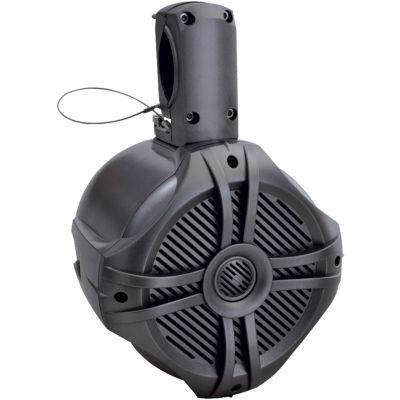 Power Acoustik MWT?65T Marine-Grade 6.5IN 500-WattWake Tower Enclosure & Speaker System (Titanium)